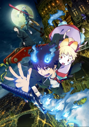 Blue Exorcist - The Movie 3509x5000