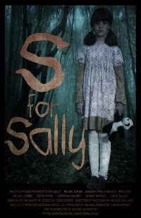 S for Sally poster