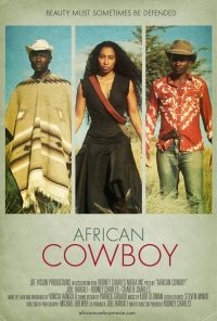 African Cowboy poster