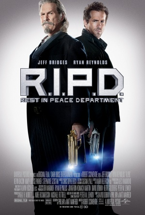 Ghost Agent: R.I.P.D. 3375x5000