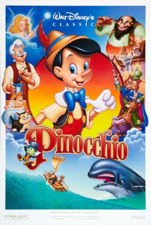 Pinocchio Re-release poster