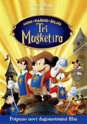Mickey, Donald, Goofy: The Three Musketeers 1525x2161