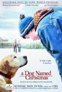 A Dog Named Christmas poster