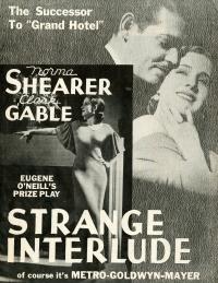 Strange Interlude poster