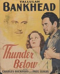 Thunder Below poster