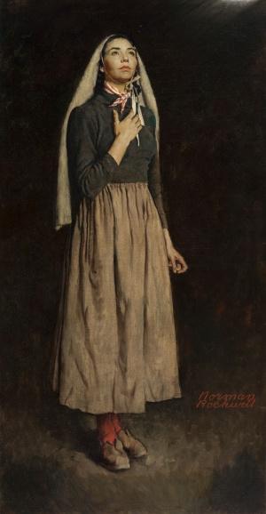 The Song of Bernadette 1557x3000