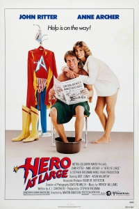 Hero at Large poster
