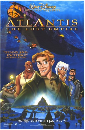 Atlantis - Das Geheimnis der verlorenen Stadt 580x886