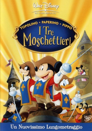 Mickey, Donald, Goofy: The Three Musketeers 764x1087