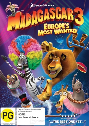 Madagascar 3: Europe's Most Wanted 754x1063