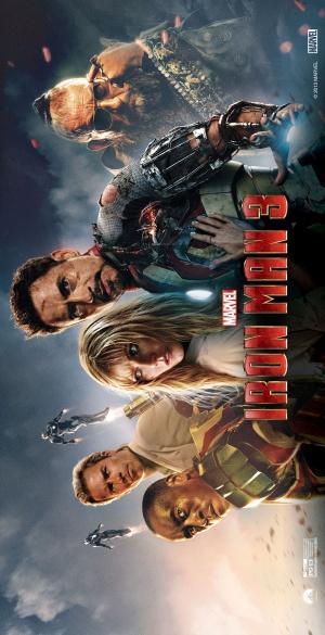 Iron Man Three 1846x3600