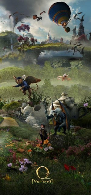 Oz the Great and Powerful 886x1894