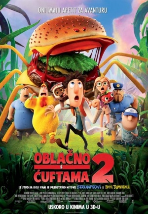 Cloudy with a Chance of Meatballs 2 556x800