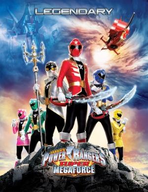 Power Rangers Megaforce 1387x1793