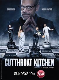 Cutthroat Kitchen poster