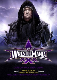 WrestleMania XXX poster