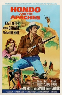 Hondo and the Apaches poster