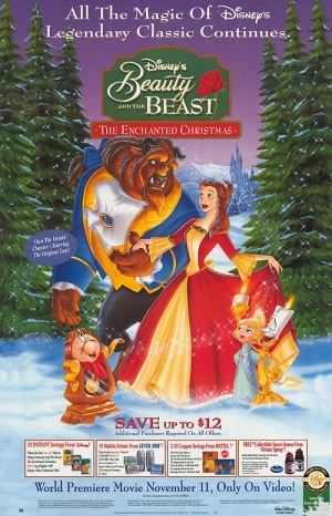Beauty and the Beast: The Enchanted Christmas 500x776