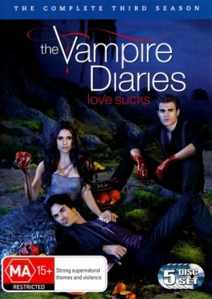 The Vampire Diaries 400x563