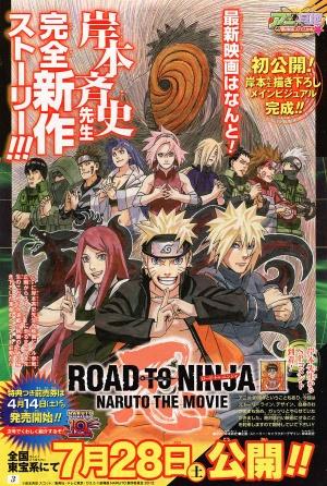 Road to Ninja: Naruto the Movie 900x1337