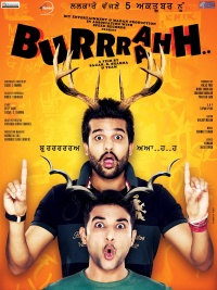 Burrraahh poster