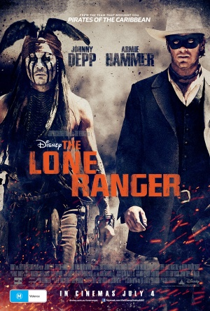 The Lone Ranger 2373x3516