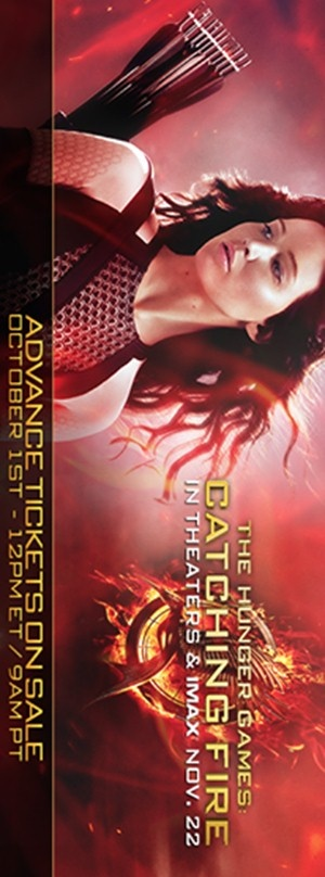 The Hunger Games: Catching Fire 300x808