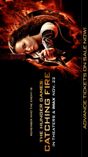 The Hunger Games: Catching Fire 1152x2048