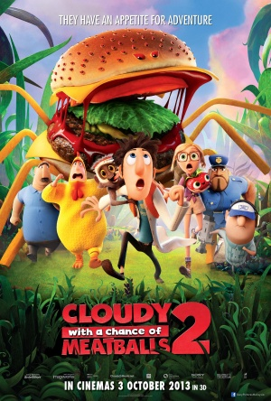 Cloudy with a Chance of Meatballs 2 2126x3149