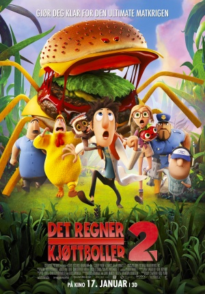 Cloudy with a Chance of Meatballs 2 3500x5000