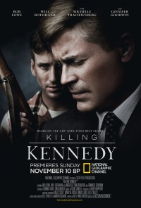 Killing Kennedy poster