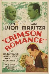 Crimson Romance poster