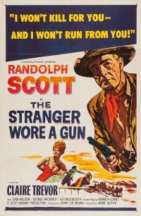 The Stranger Wore a Gun poster