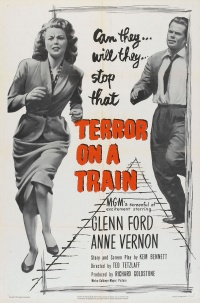 Terror on a Train poster
