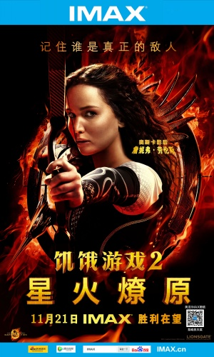 The Hunger Games: Catching Fire 3002x5000