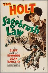 Sagebrush Law poster