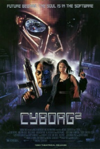 Cyborg 2: Glass Shadow poster