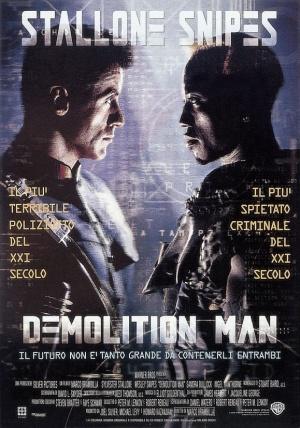 Demolition Man 579x827