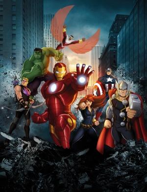 Avengers Assemble 3837x5000