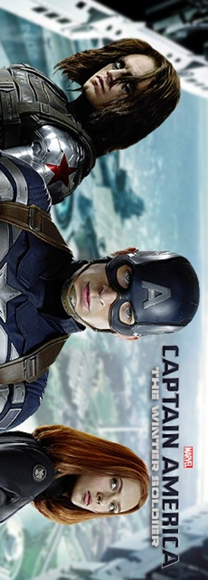 Captain America: The Winter Soldier 300x835