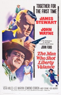L'uomo che uccise Liberty Valance poster