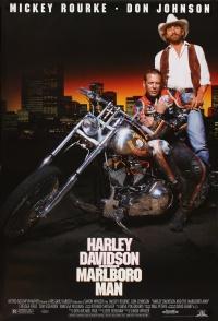 Harley Davidson und der Marlboro-Mann poster