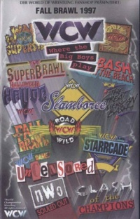 WCW Fall Brawl: War Games poster