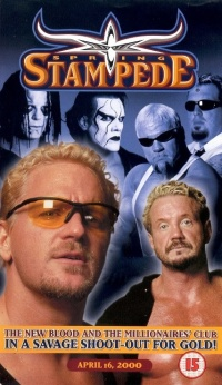WCW Spring Stampede poster