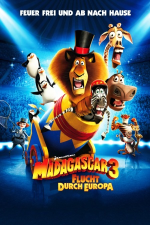 Madagascar 3: Europe's Most Wanted 1000x1500