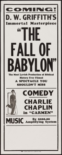 The Fall of Babylon poster