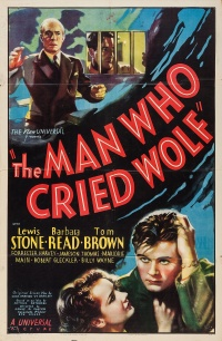 The Man Who Cried Wolf poster