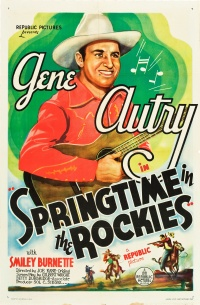 Springtime in the Rockies poster