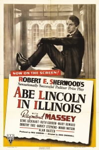 Abe Lincoln in Illinois poster