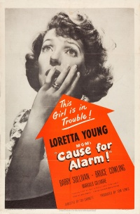 Cause for Alarm! poster